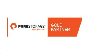 Pure Storage Gold Partner Logo