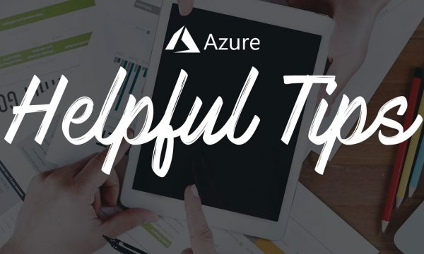 Azure Tips and Tricks Header