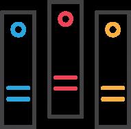 Icon of three files
