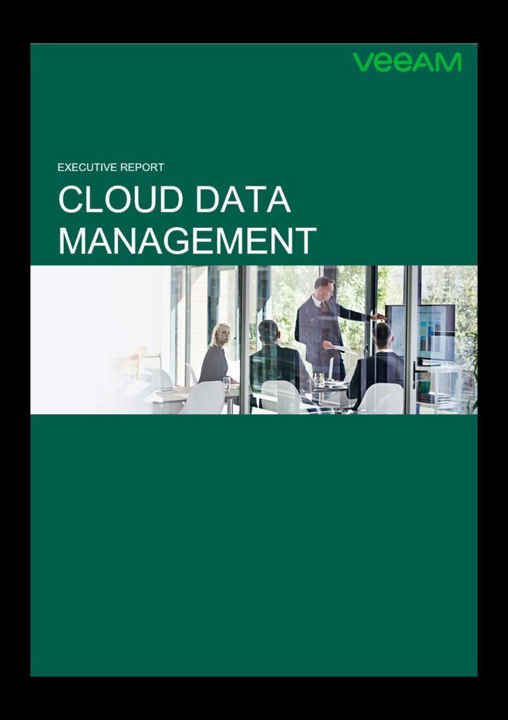 Cloud Data Management Exec Report Example