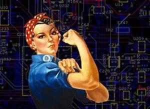 Women in data flexing muscles