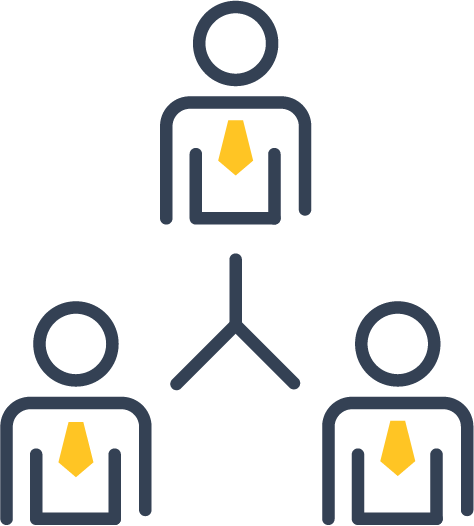 Icon of a group of people
