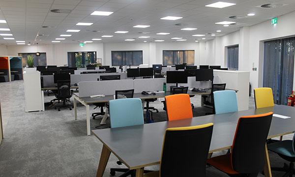 Photo of the new Phoenix sales floor