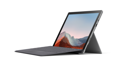 An image of a Surface Pro 7+