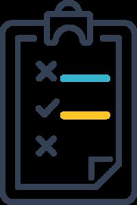 Icon of a clip board