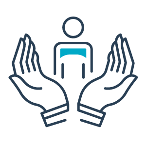 person in good hands icon
