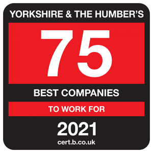 Yorkshire and the Humber's 75 Best Companies to Work For 2021